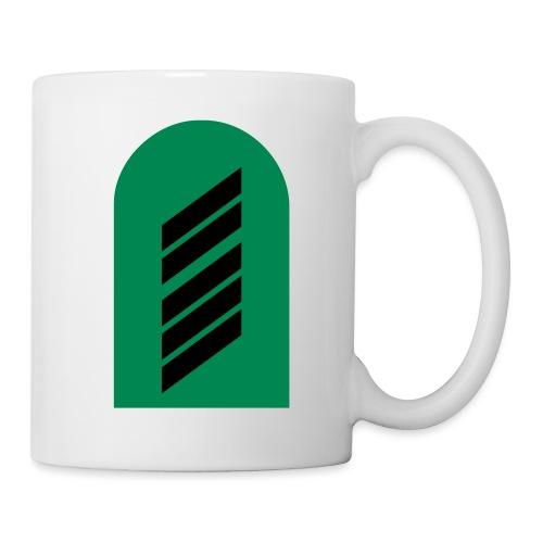 Schulterklappe Oberstabsgefreiter - Tasse