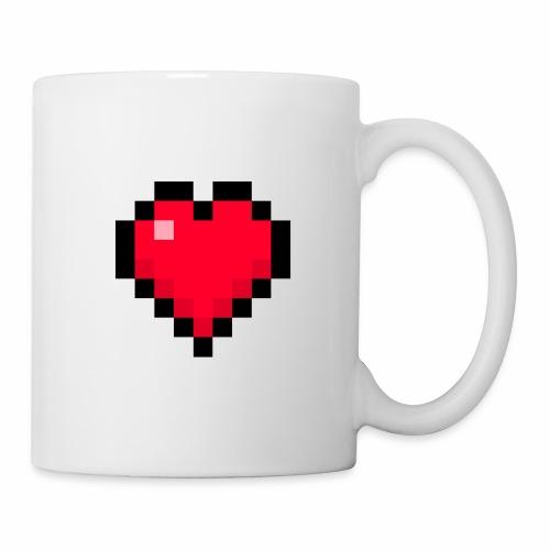 Cuore di pixel - Tazza