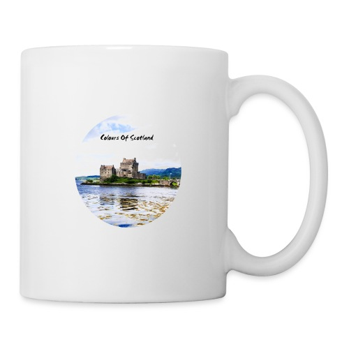 COLOURS OF SCOTLAND - Mug blanc