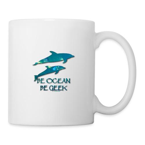 Be Dolphins - Soutien à La Dolphin Connection - Mug blanc