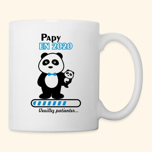 papy en 2020,Bientôt Papy,futur grand-père - Mug blanc