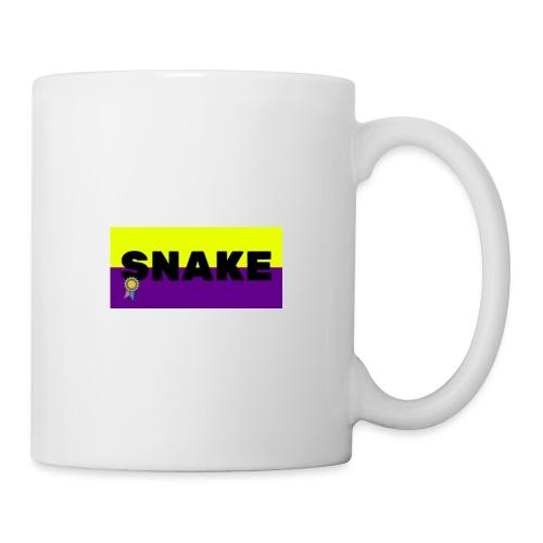 SNAKE LOGO - Mug blanc