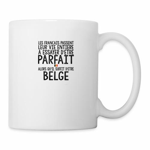 Les français passent leur vie entière a essayer - Mug blanc