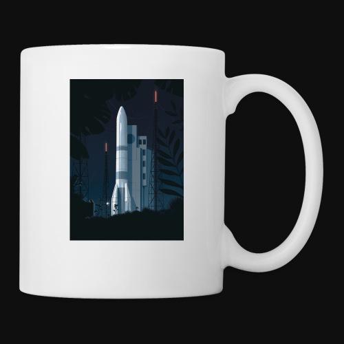Ariane 6 - At night By Tom Haugomat - Mug