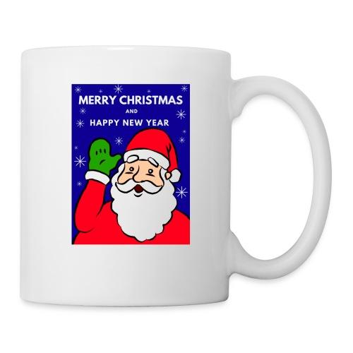 Christmas Holiday Santa Mug 1 - Taza