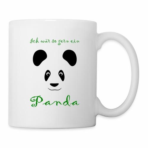 Ich wär so gern ein Panda - Mug