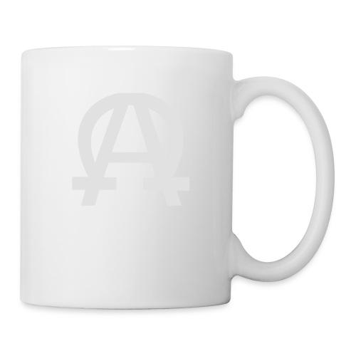 alpha-oméga - Mug blanc