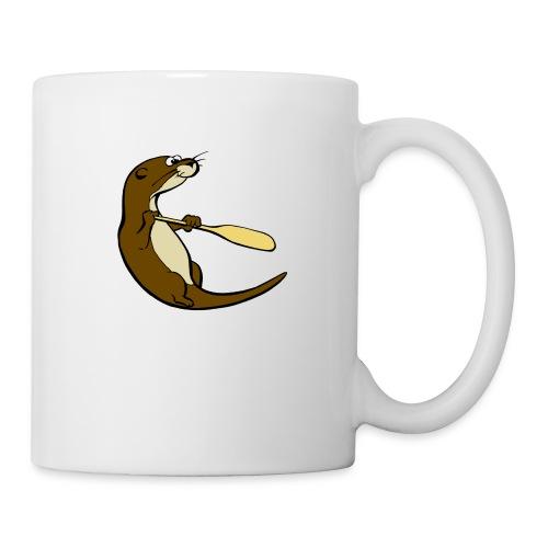 Classic Song of the Paddle otter logo - Mug