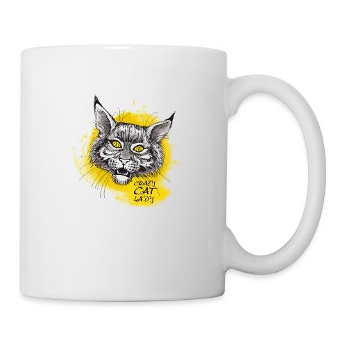 crazy cat lady - Tasse