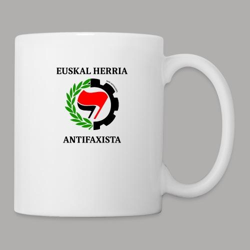 EH antifaxista pour fond clair - Mug blanc