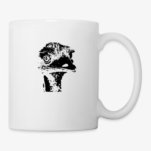 Emu Outline Black - Mug