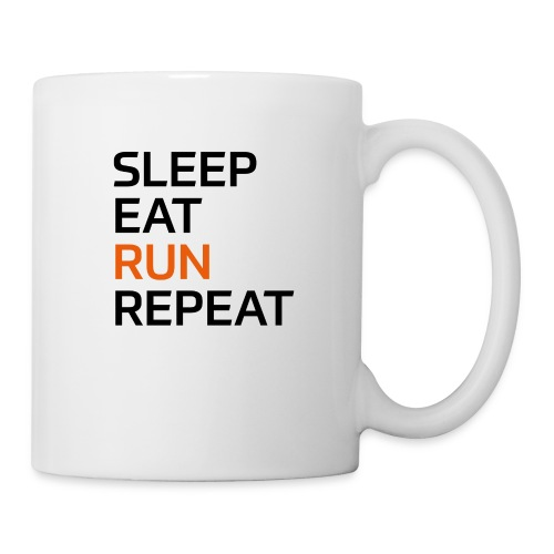 Eat Sleep Run Repeat - Tasse
