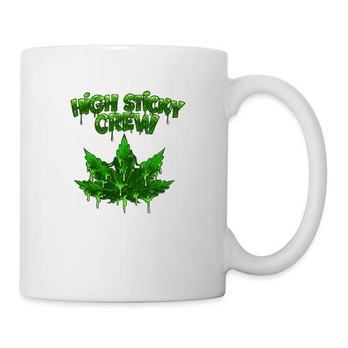 HIGH STICKY CREW - Collector - Mug blanc