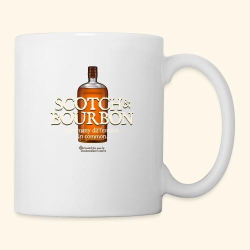 Whisky Spruch Scotch & Bourbon - Tasse