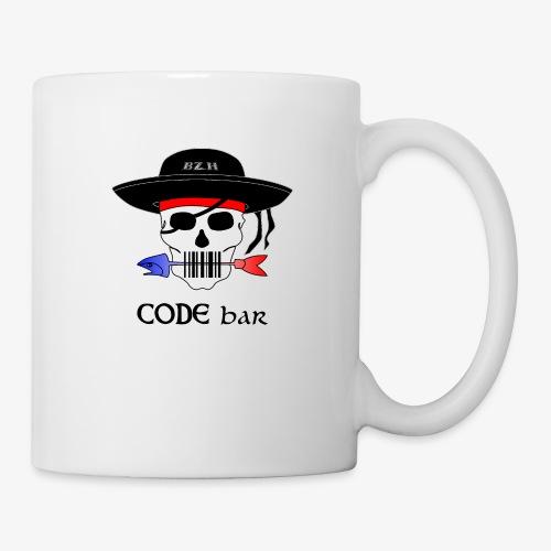 Code Bar couleur - Mug blanc