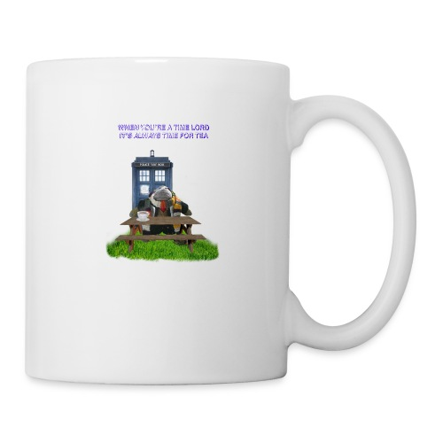 TIME AND SPACE AND TEA - Mug