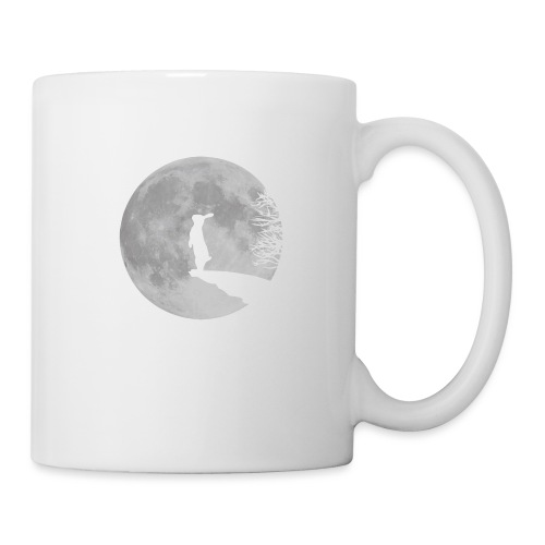 Wolfinchen hase kaninchen häschenosterhase bunny - Tasse