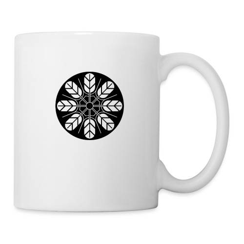 Inoue clan kamon in black - Mug