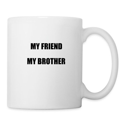 my friend - Mug blanc