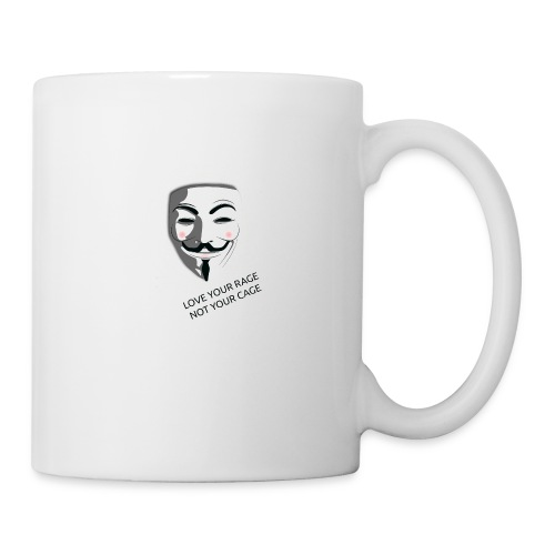 Anonymous Love Your Rage - Mug