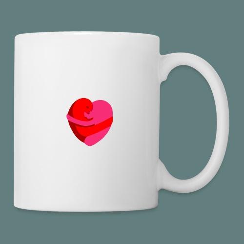 hearts hug - Tazza