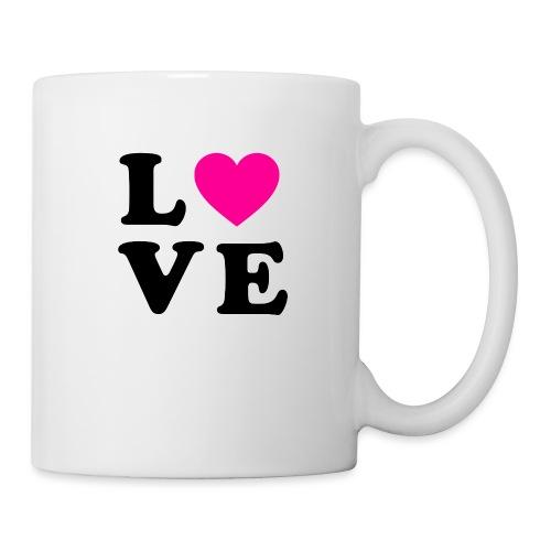 Love t-shirt - Mug blanc