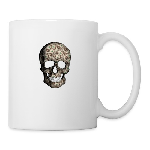 Skull Money Black - Taza