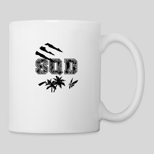 SQD tshirt logo wit - Mok