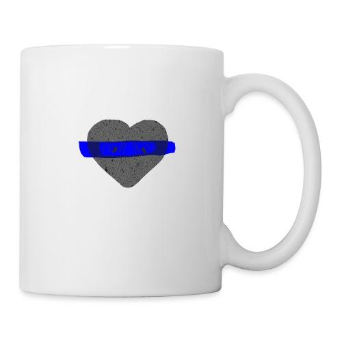serduszko blu - Kubek