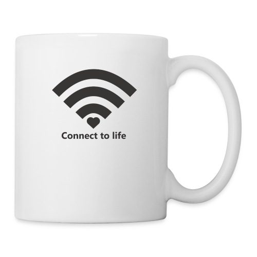 Conect_to_life - Taza