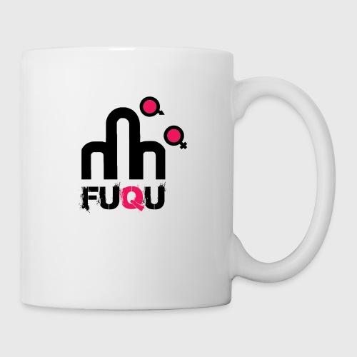 T-shirt FUQU logo colore nero - Tazza