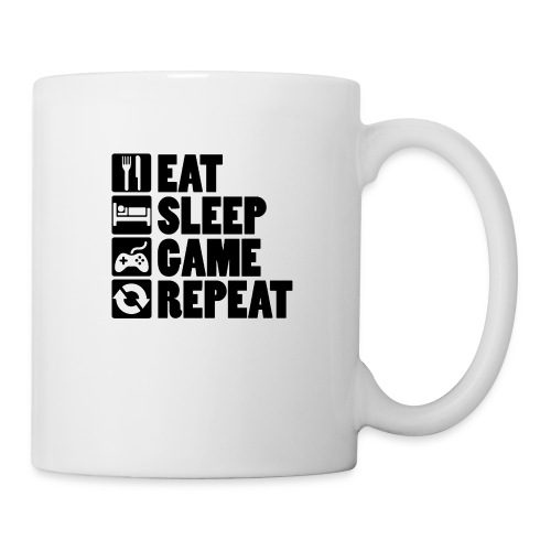 Eat Sleep Game Repeat - Kop/krus