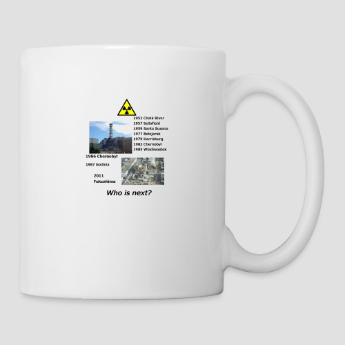 no nuclear button Who is next? - Mug
