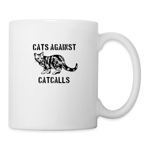 Cats against catcalls - Mug