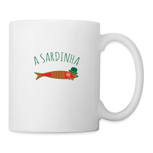 A Sardinha - Bandeira - Mug blanc