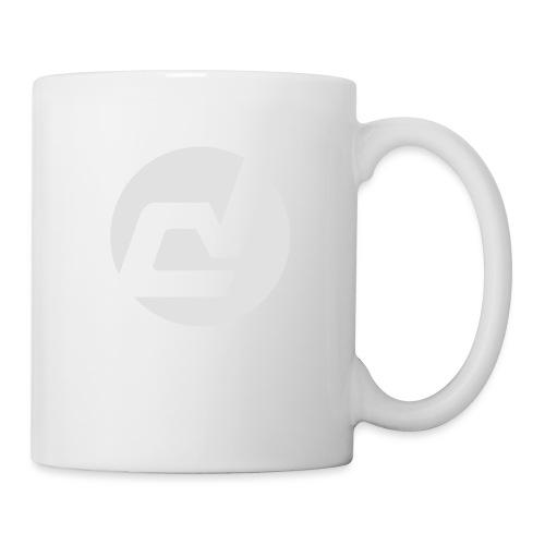 logo blanc - Mug blanc