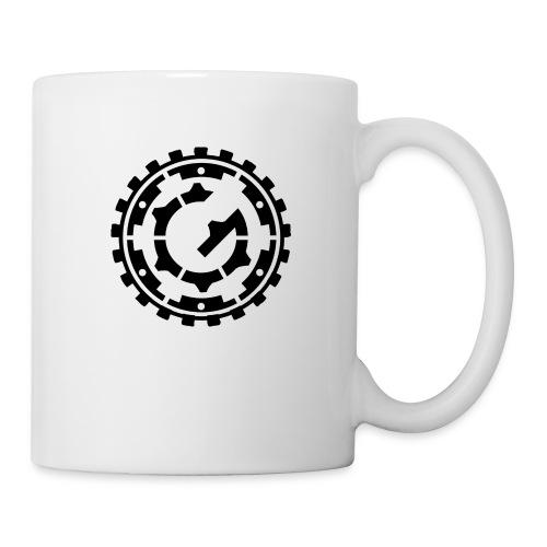 Steffen G. Logo schwarz - Tasse