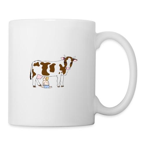 Vache à lait - Mug blanc