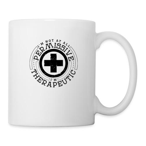 I'm Not Permissive (White) - Mug