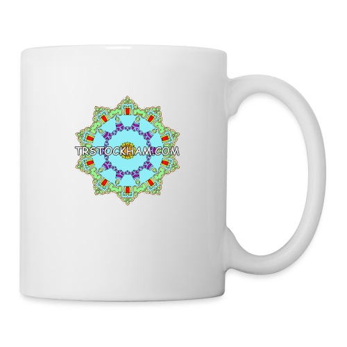Enjoyably Quirky Colouring Book Design 9 - Mug