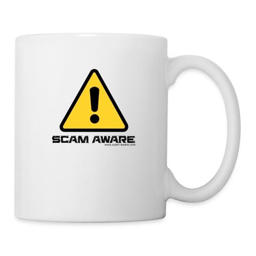 scam-aware.com's line of clothing - Mug