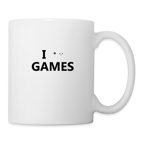 I Love Games - Taza