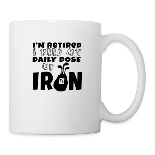 Retired Golfer - Mug