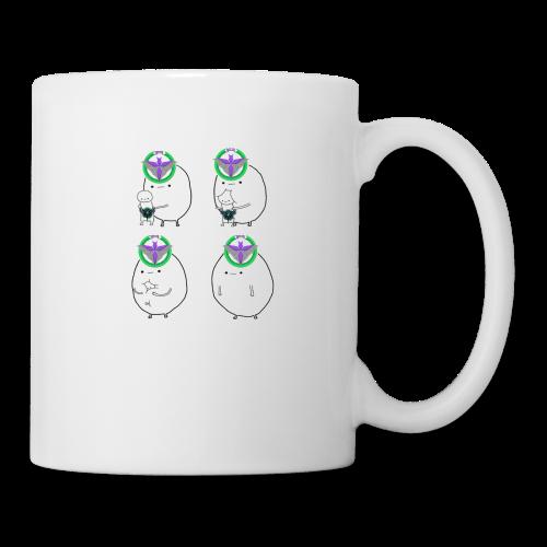 1FR Mange FRES - Mug blanc