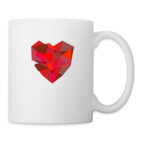 Poly-Heart - Taza