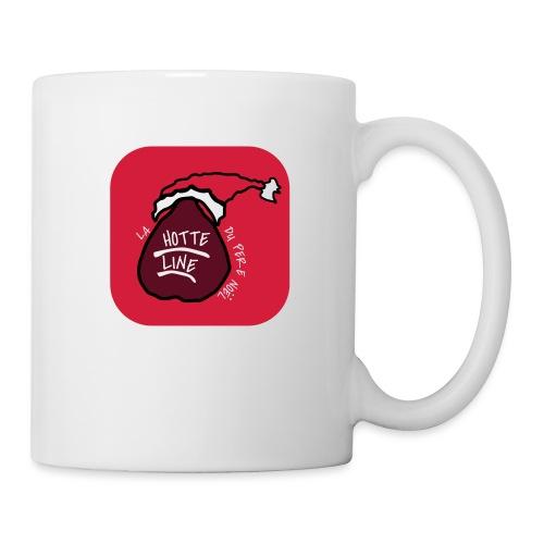 T SHIRT La Hotte Line Du Père Noël - Mug blanc