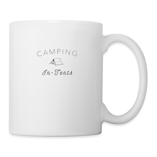 camping is in-tents - Mug