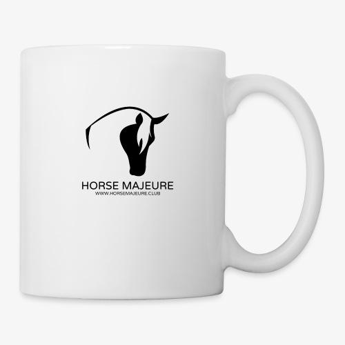 Horse Majeure Logo / Musta - Muki