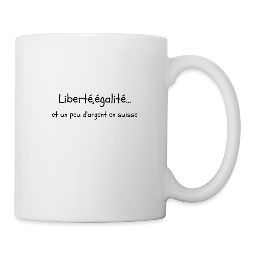 liberté,égalité... - Mug blanc