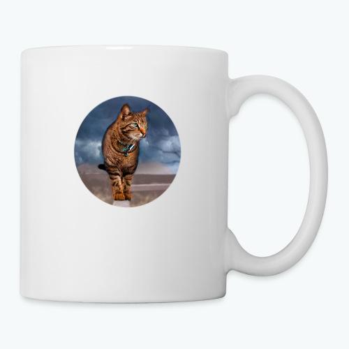 Chat sauvage - Mug blanc